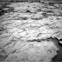 Nasa's Mars rover Curiosity acquired this image using its Left Navigation Camera on Sol 1267, at drive 210, site number 53
