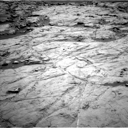 Nasa's Mars rover Curiosity acquired this image using its Left Navigation Camera on Sol 1267, at drive 216, site number 53