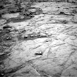 Nasa's Mars rover Curiosity acquired this image using its Left Navigation Camera on Sol 1267, at drive 222, site number 53