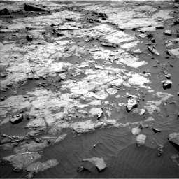 Nasa's Mars rover Curiosity acquired this image using its Left Navigation Camera on Sol 1267, at drive 270, site number 53