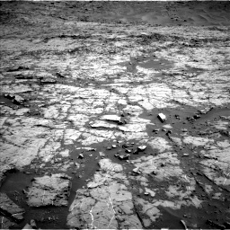 Nasa's Mars rover Curiosity acquired this image using its Left Navigation Camera on Sol 1267, at drive 318, site number 53