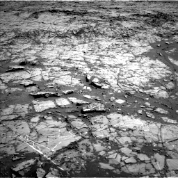 Nasa's Mars rover Curiosity acquired this image using its Left Navigation Camera on Sol 1267, at drive 354, site number 53