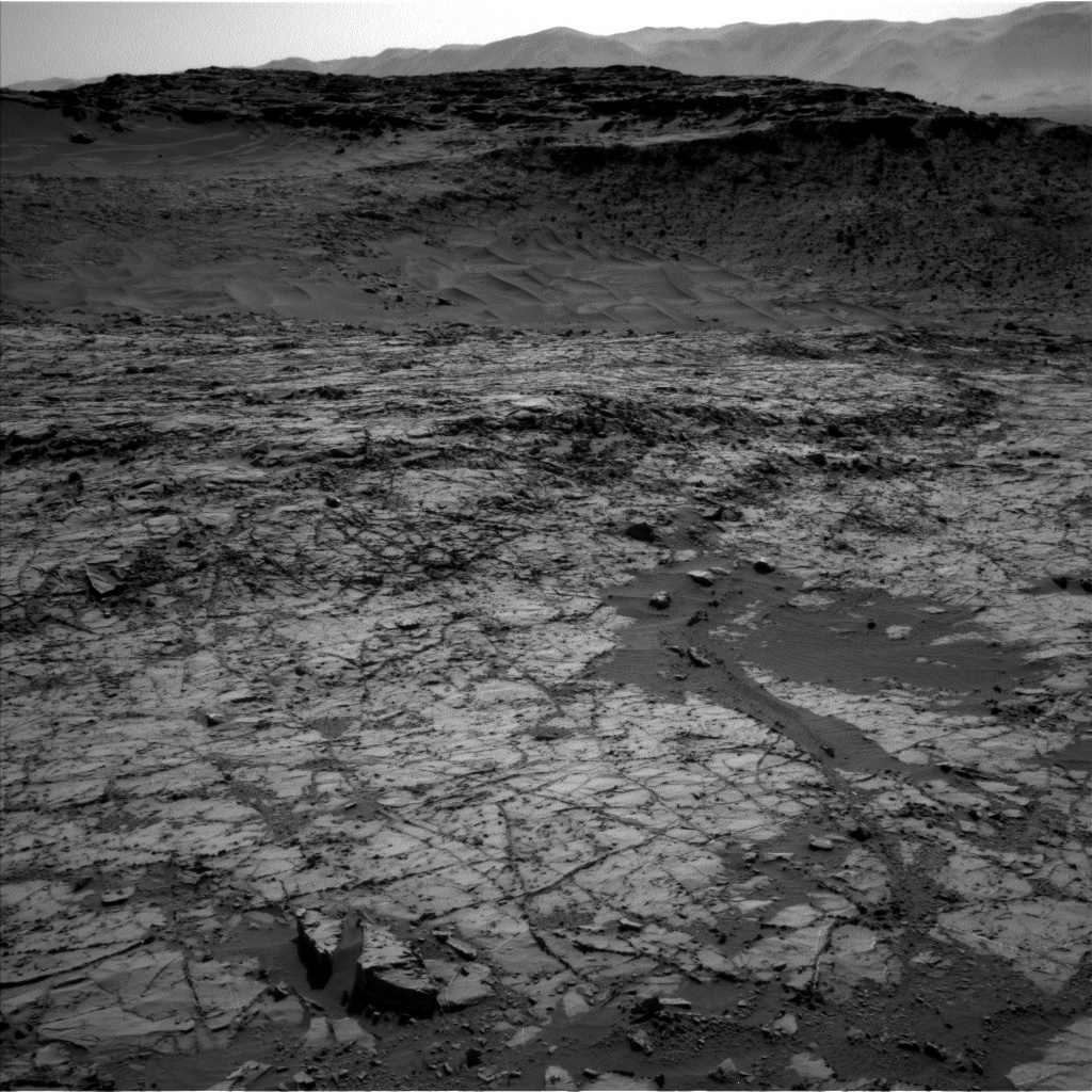 NASA's Mars rover Curiosity acquired this image using its Left Navigation Camera (Navcams) on Sol 1267