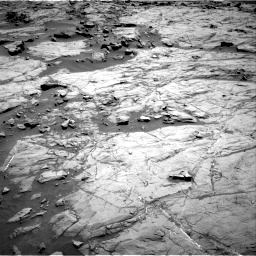 Nasa's Mars rover Curiosity acquired this image using its Right Navigation Camera on Sol 1267, at drive 228, site number 53
