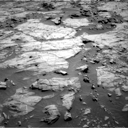 Nasa's Mars rover Curiosity acquired this image using its Right Navigation Camera on Sol 1267, at drive 240, site number 53