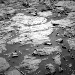 Nasa's Mars rover Curiosity acquired this image using its Right Navigation Camera on Sol 1267, at drive 246, site number 53
