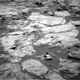 Nasa's Mars rover Curiosity acquired this image using its Right Navigation Camera on Sol 1267, at drive 252, site number 53