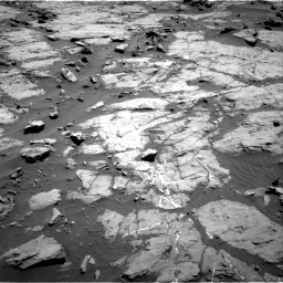 Nasa's Mars rover Curiosity acquired this image using its Right Navigation Camera on Sol 1267, at drive 258, site number 53