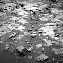 Nasa's Mars rover Curiosity acquired this image using its Right Navigation Camera on Sol 1267, at drive 264, site number 53