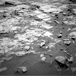 Nasa's Mars rover Curiosity acquired this image using its Right Navigation Camera on Sol 1267, at drive 270, site number 53