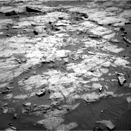 Nasa's Mars rover Curiosity acquired this image using its Right Navigation Camera on Sol 1267, at drive 276, site number 53