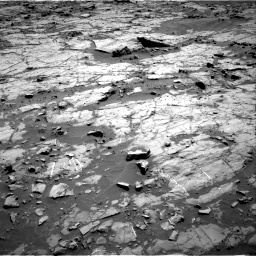Nasa's Mars rover Curiosity acquired this image using its Right Navigation Camera on Sol 1267, at drive 288, site number 53