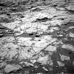Nasa's Mars rover Curiosity acquired this image using its Right Navigation Camera on Sol 1267, at drive 306, site number 53