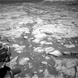 Nasa's Mars rover Curiosity acquired this image using its Right Navigation Camera on Sol 1267, at drive 318, site number 53