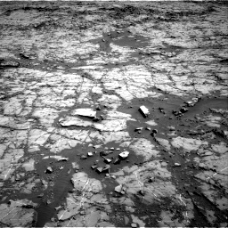 Nasa's Mars rover Curiosity acquired this image using its Right Navigation Camera on Sol 1267, at drive 324, site number 53