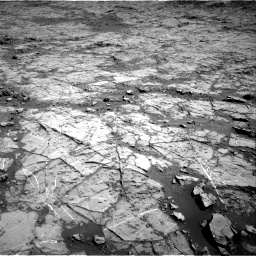 Nasa's Mars rover Curiosity acquired this image using its Right Navigation Camera on Sol 1267, at drive 348, site number 53