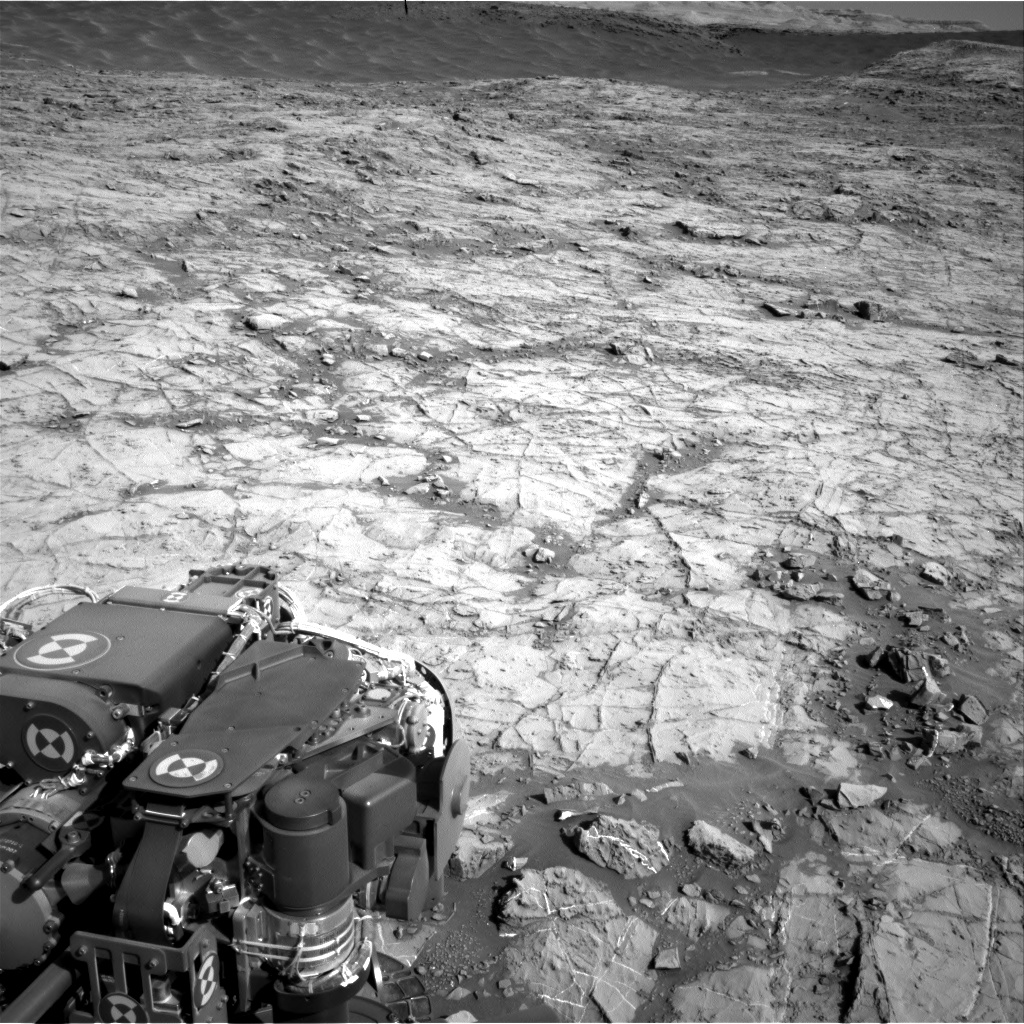 Nasa's Mars rover Curiosity acquired this image using its Right Navigation Camera on Sol 1267, at drive 372, site number 53