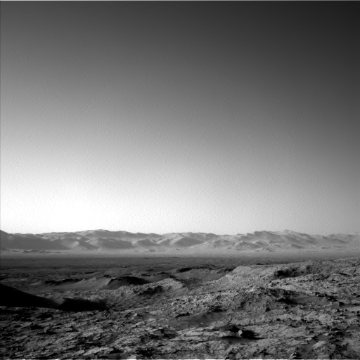 Nasa's Mars rover Curiosity acquired this image using its Left Navigation Camera on Sol 1268, at drive 372, site number 53