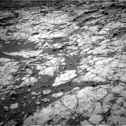 Nasa's Mars rover Curiosity acquired this image using its Left Navigation Camera on Sol 1269, at drive 402, site number 53