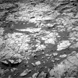 Nasa's Mars rover Curiosity acquired this image using its Left Navigation Camera on Sol 1269, at drive 408, site number 53