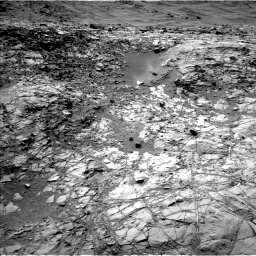 Nasa's Mars rover Curiosity acquired this image using its Left Navigation Camera on Sol 1269, at drive 534, site number 53
