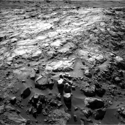 Nasa's Mars rover Curiosity acquired this image using its Left Navigation Camera on Sol 1269, at drive 576, site number 53