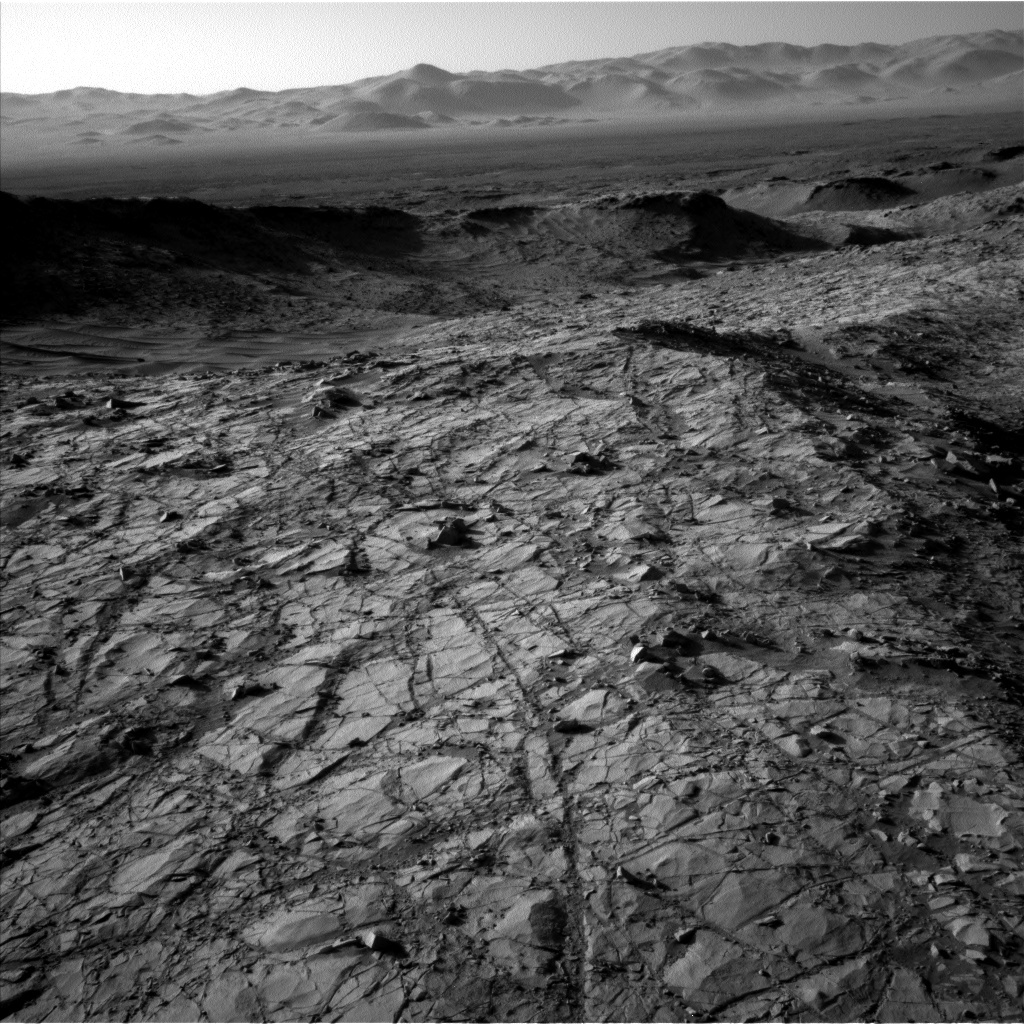 NASA's Mars rover Curiosity acquired this image using its Left Navigation Camera (Navcams) on Sol 1269