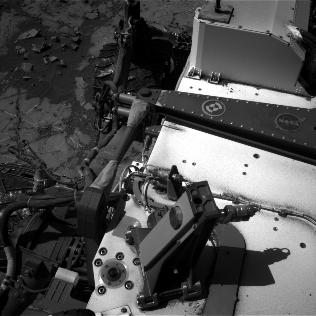 Nasa's Mars rover Curiosity acquired this image using its Right Navigation Camera on Sol 1269, at drive 378, site number 53
