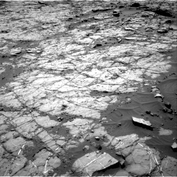 Nasa's Mars rover Curiosity acquired this image using its Right Navigation Camera on Sol 1269, at drive 384, site number 53
