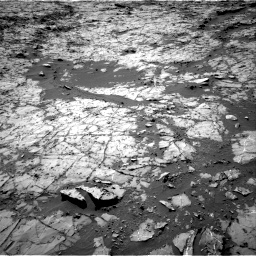 Nasa's Mars rover Curiosity acquired this image using its Right Navigation Camera on Sol 1269, at drive 414, site number 53