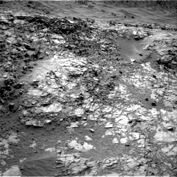 Nasa's Mars rover Curiosity acquired this image using its Right Navigation Camera on Sol 1269, at drive 546, site number 53