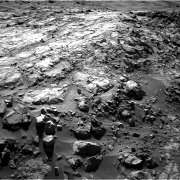 Nasa's Mars rover Curiosity acquired this image using its Right Navigation Camera on Sol 1269, at drive 570, site number 53
