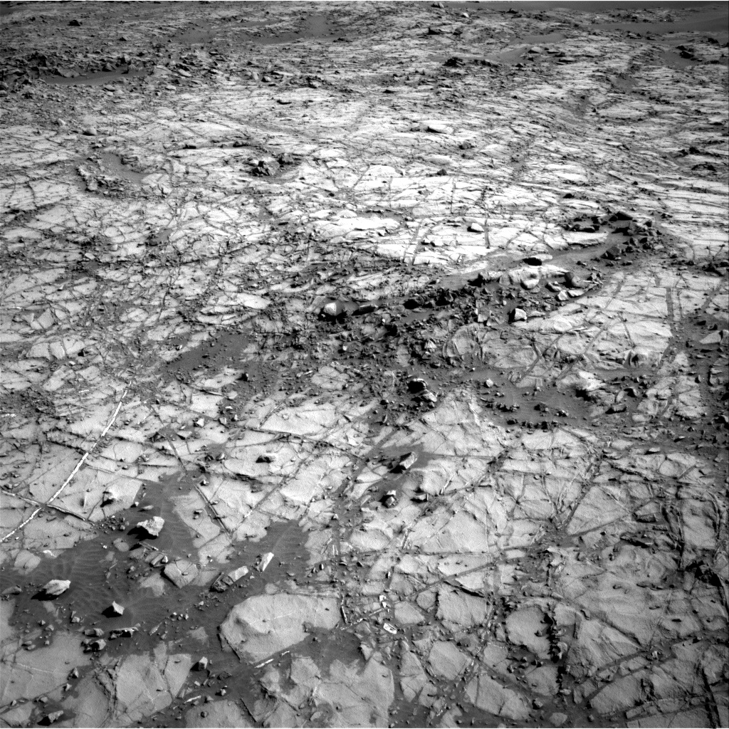 Nasa's Mars rover Curiosity acquired this image using its Right Navigation Camera on Sol 1269, at drive 576, site number 53