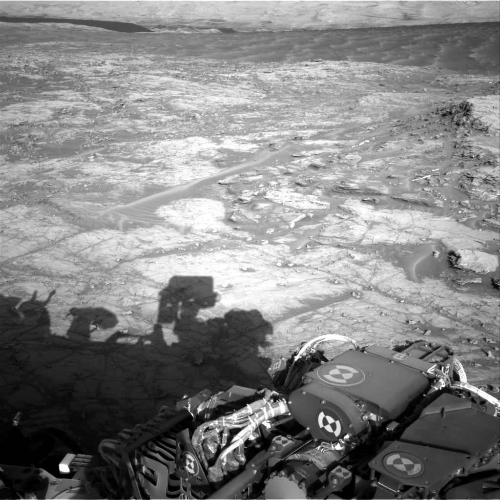 Nasa's Mars rover Curiosity acquired this image using its Right Navigation Camera on Sol 1269, at drive 636, site number 53