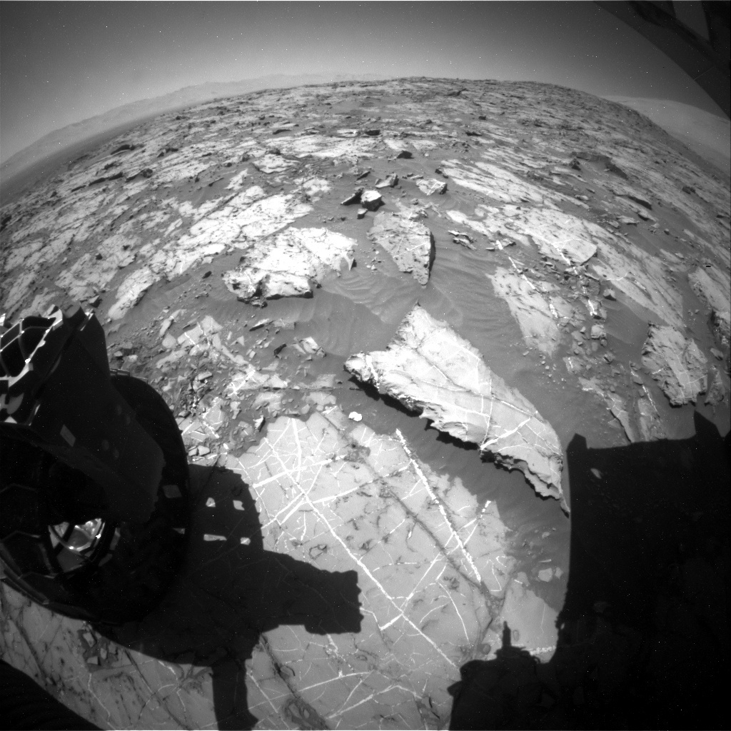 NASA's Mars rover Curiosity acquired this image using its Rear Hazard Avoidance Cameras (Rear Hazcams) on Sol 1269