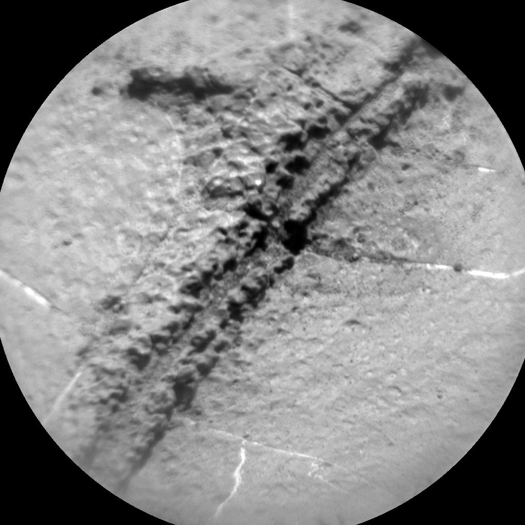 Nasa's Mars rover Curiosity acquired this image using its Chemistry & Camera (ChemCam) on Sol 1269, at drive 372, site number 53