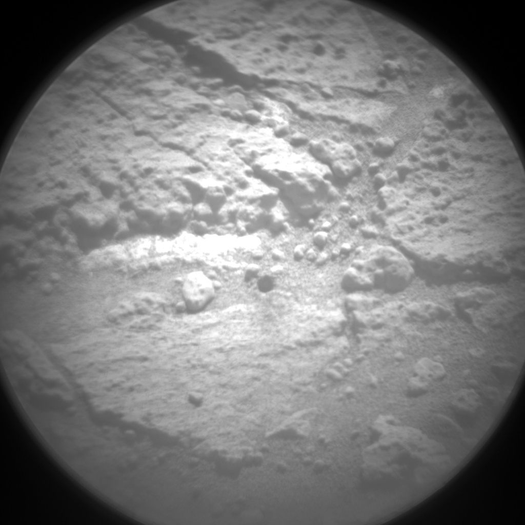 Nasa's Mars rover Curiosity acquired this image using its Chemistry & Camera (ChemCam) on Sol 1271, at drive 636, site number 53