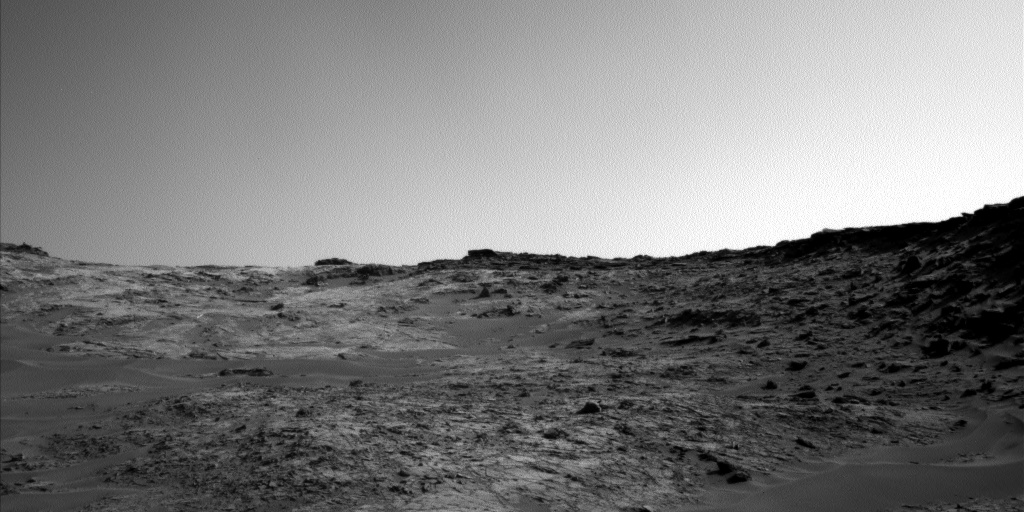 Nasa's Mars rover Curiosity acquired this image using its Left Navigation Camera on Sol 1271, at drive 636, site number 53