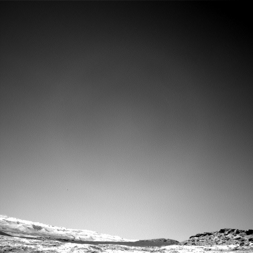 NASA's Mars rover Curiosity acquired this image using its Left Navigation Camera (Navcams) on Sol 1272