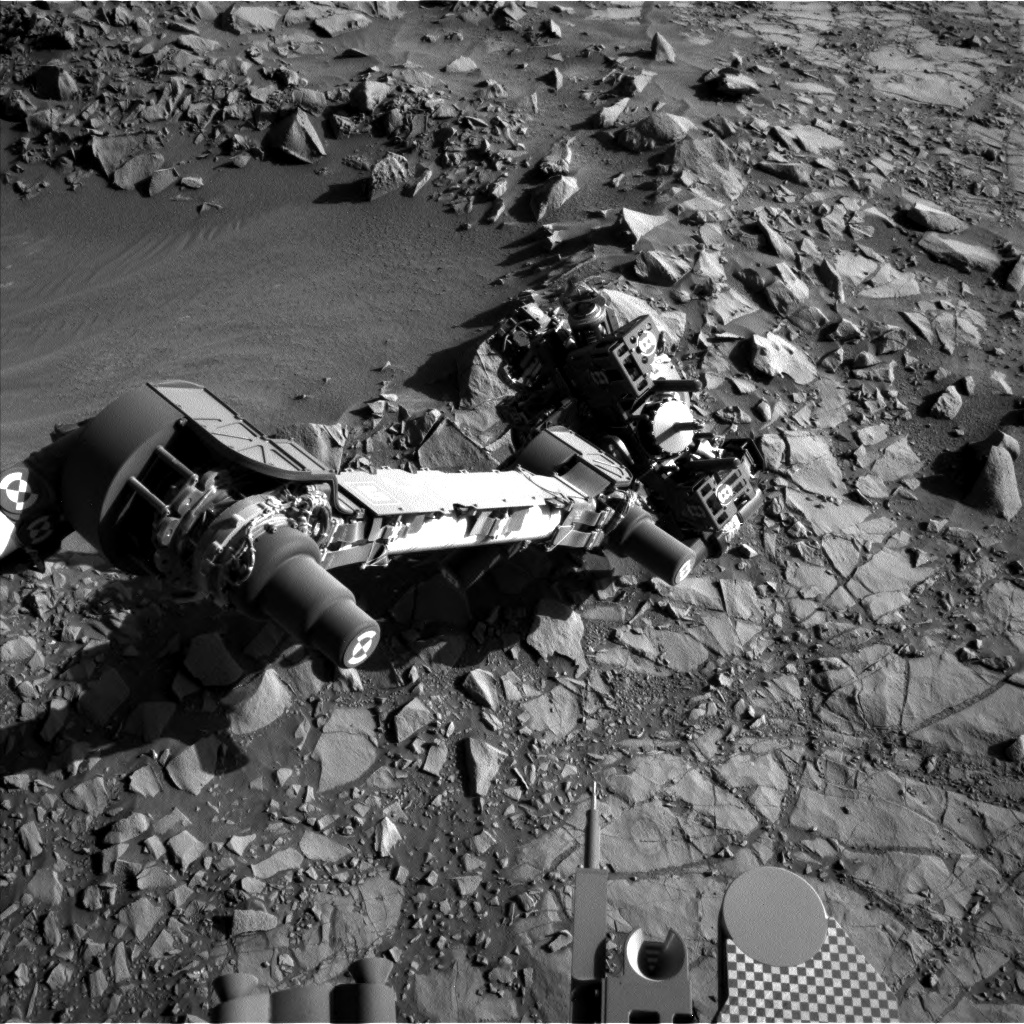 Nasa's Mars rover Curiosity acquired this image using its Left Navigation Camera on Sol 1273, at drive 636, site number 53