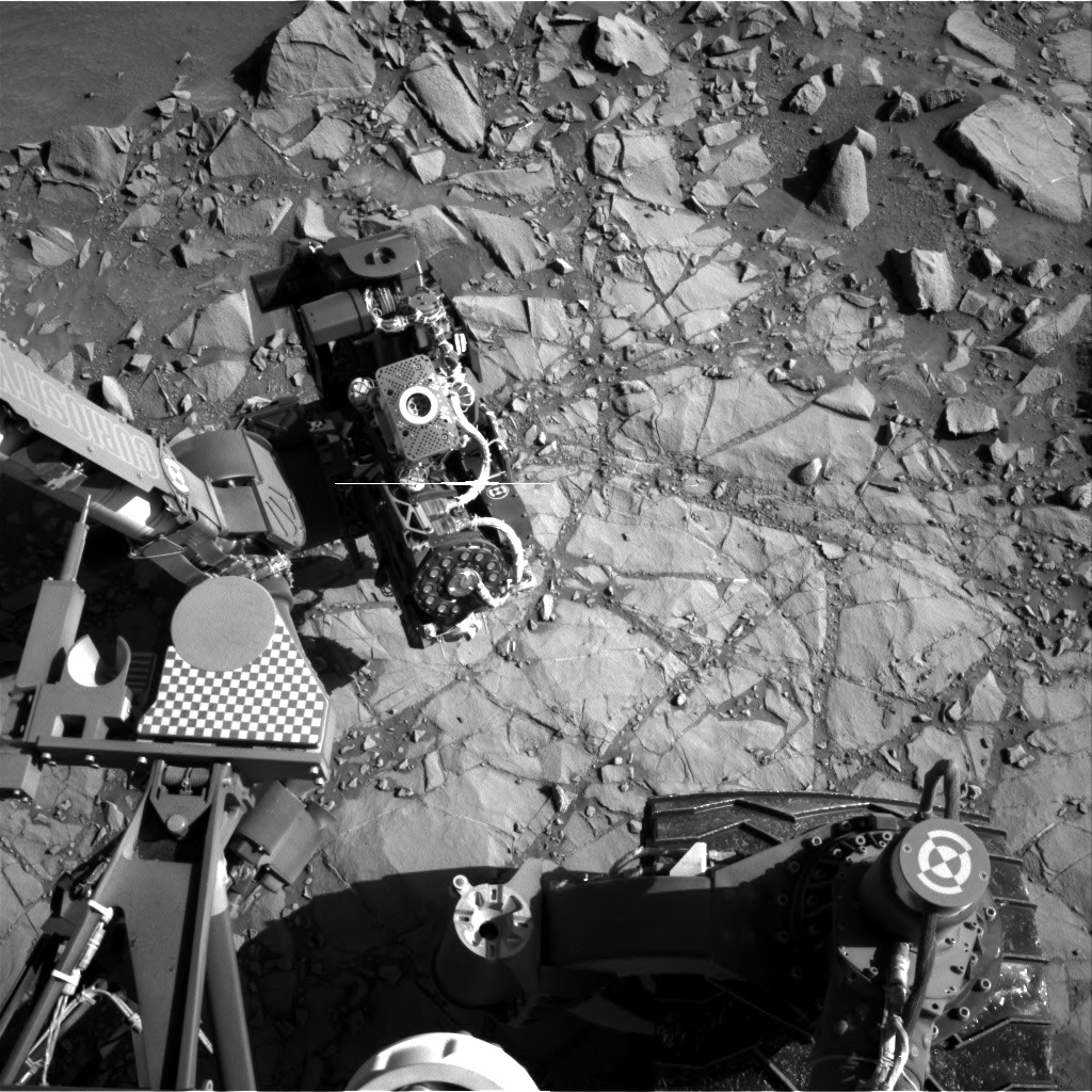 Nasa's Mars rover Curiosity acquired this image using its Right Navigation Camera on Sol 1273, at drive 636, site number 53