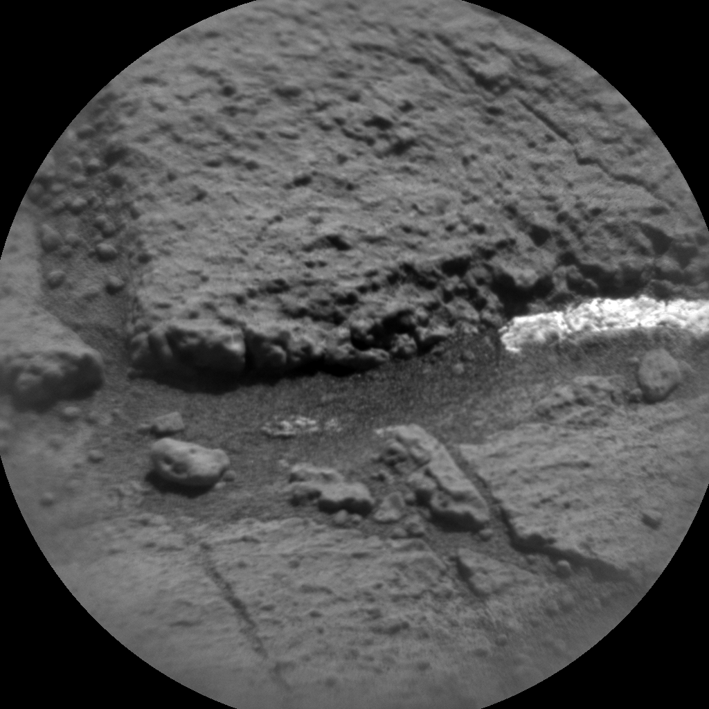 Nasa's Mars rover Curiosity acquired this image using its Chemistry & Camera (ChemCam) on Sol 1273, at drive 636, site number 53