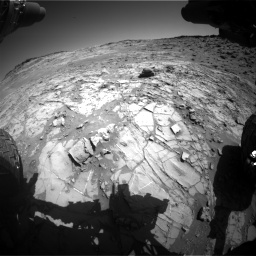 Nasa's Mars rover Curiosity acquired this image using its Front Hazard Avoidance Camera (Front Hazcam) on Sol 1274, at drive 768, site number 53