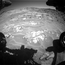 Nasa's Mars rover Curiosity acquired this image using its Front Hazard Avoidance Camera (Front Hazcam) on Sol 1274, at drive 798, site number 53