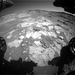 Nasa's Mars rover Curiosity acquired this image using its Front Hazard Avoidance Camera (Front Hazcam) on Sol 1274, at drive 846, site number 53