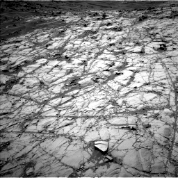 Nasa's Mars rover Curiosity acquired this image using its Left Navigation Camera on Sol 1274, at drive 648, site number 53