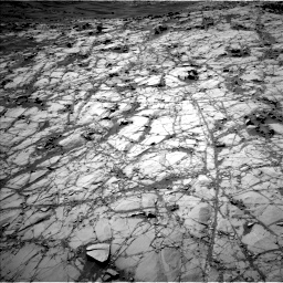 Nasa's Mars rover Curiosity acquired this image using its Left Navigation Camera on Sol 1274, at drive 654, site number 53