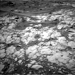 Nasa's Mars rover Curiosity acquired this image using its Left Navigation Camera on Sol 1274, at drive 678, site number 53