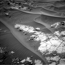 Nasa's Mars rover Curiosity acquired this image using its Left Navigation Camera on Sol 1274, at drive 720, site number 53