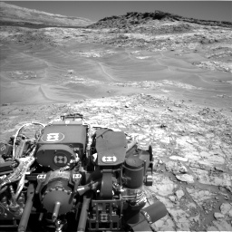 Nasa's Mars rover Curiosity acquired this image using its Left Navigation Camera on Sol 1274, at drive 768, site number 53